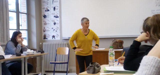 Alors que débute le festival du conte Alors Raconte, ce jeudi 31 janvier 2019, les lycéens de seconde ont eu droit à une séance contée par Thérèse Bonnefoydes Conteuses en […]