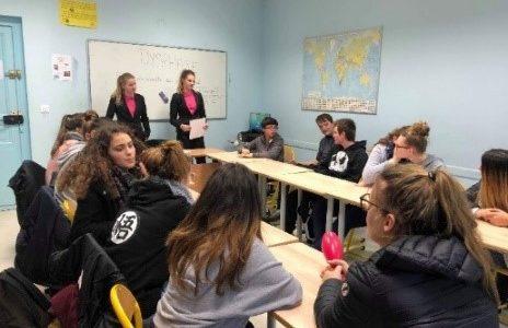 Dans le cadre de notre formation Bac Pro Services Aux Personnes et Aux Territoires (SAPAT) le groupe d'élèves du projet MAP dyslexie de Terminale du lycée LEAP Lestonnac de Beaumont […]